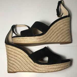 cc60883f94e NWOB Cole Haan Giselle Espadrille High Wedge S/10